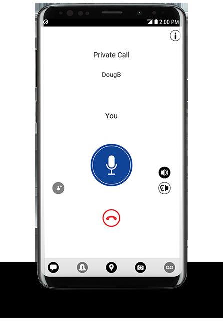 MOTOROLA WAVE PTX Mobile App